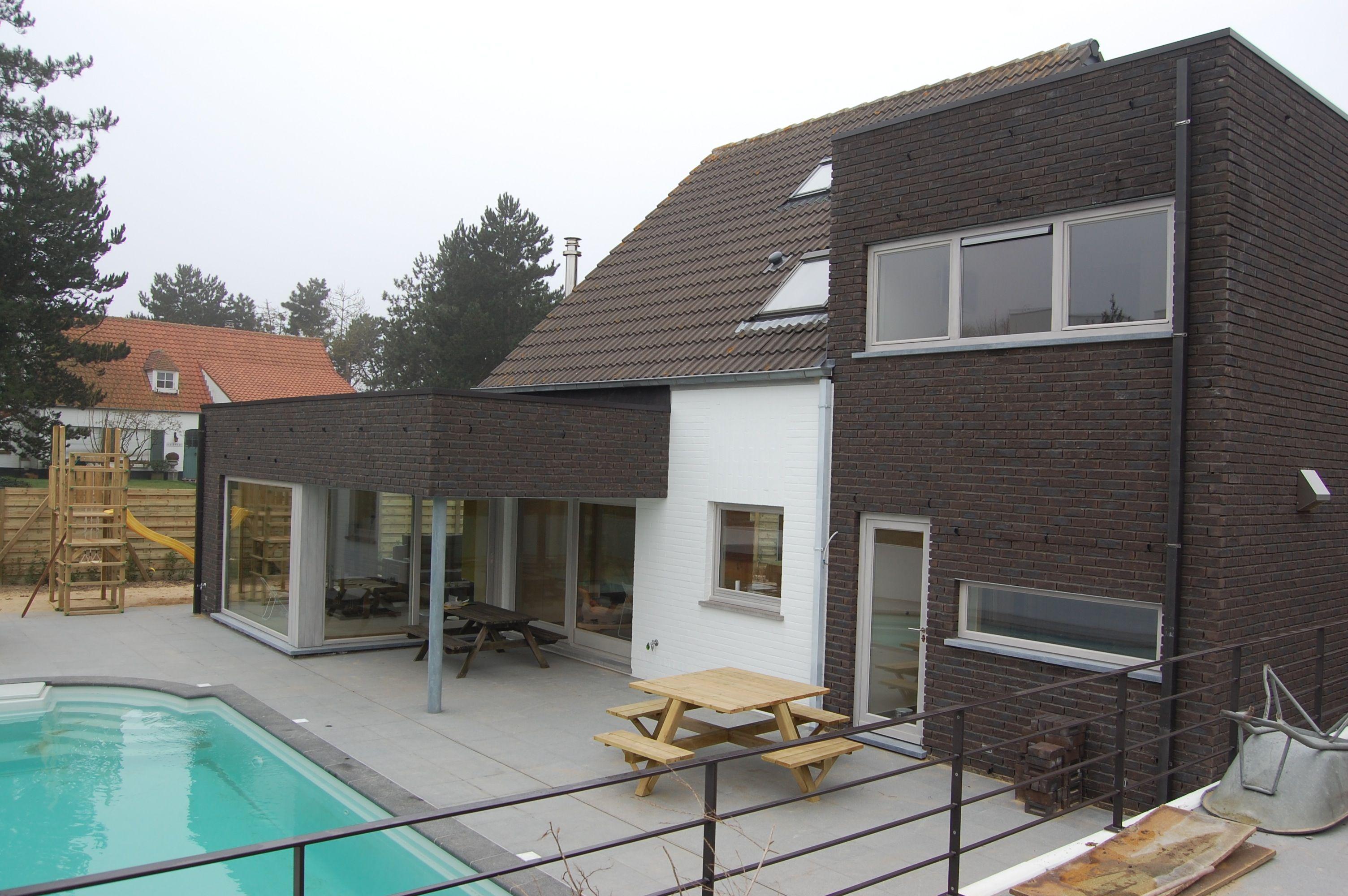 Verbouwing woning oostduinkerke architect wouter cassiman architect wouter cassiman - Moderne verdieping ...